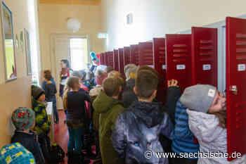 Grundschule Dohna platzt aus allen Nähten - Sächsische Zeitung