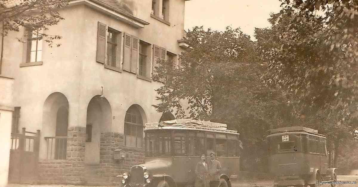 Die erste staatliche Kraftfahrlinie zwischen Cochem und Lutzerath - Trierischer Volksfreund