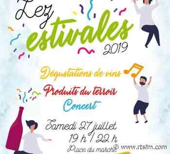 Lez'estivales de Prades-le-Lez 2019 - RTS La radio du Sud - RTS FM La Radio du Sud