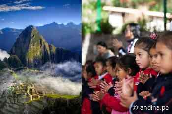 Machu Picchu: niños del Urubamba recibirán a turistas cantando villancicos - Agencia Andina