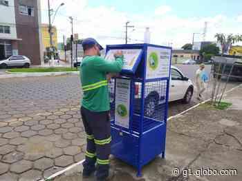 Prefeitura de Piumhi instala mais dois pontos de entrega voluntária de resíduos recicláveis - G1