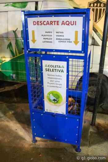 Ponto de entrega para materiais recicláveis é instalado em Piumhi - G1