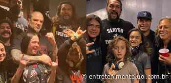 Jason Momoa mostra que é o verdadeiro tiete do metal em show de ex-Pantera - UOL