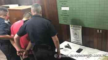 Detuvieron a un joven en Villa Lynch acusado de amenazar de muerte a sus vecinos - Que Pasa Web