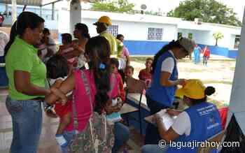 Jornada de prevención en Salud en el corregimiento de Monguí - La Guajira Hoy.com