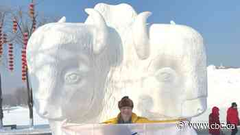 Sundre artist takes gold at ice sculpture competition in China - CBC.ca