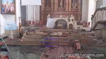Incendio consumió pesebre en Iglesia de Charalá - Canal TRO