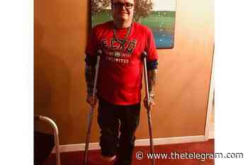 Friends help raise money for Labrador City man's prosthetic limb - The Telegram