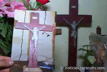 Imagen de cristo que llora sangre en Liborina, Antioquia - Noticias Caracol