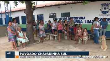 Moradores do Povoado Chapadinha Sul estão sem energia há cinco dias - G1