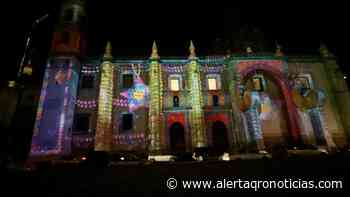 Disfruta del video mapping navideño en Santa Rosa de Viterbo - Queretaro