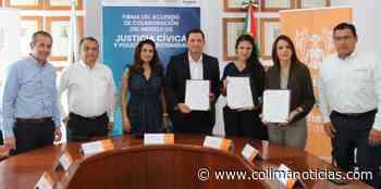 Leoncio Morán firma Acuerdo de Colaboración con Alcaldesa de General Escobedo - colimanoticias