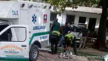 Sorprenden ambulancia con cargamento de droga en Zona Bananera - Seguimiento.co