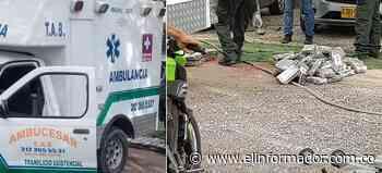 Incautan cargamento de cocaína en una ambulancia en la Zona Bananera - El Informador - Santa Marta