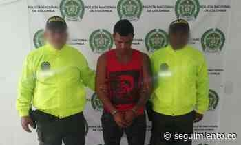 Capturan a hombre por homicidio en Zona Bananera - Seguimiento.co