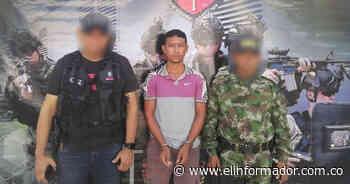 Cae alias 'Tito', presunto cobrador de extorsiones en Zona Bananera - El Informador - Santa Marta