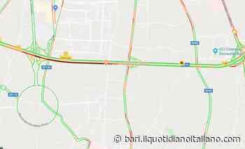 Bari, tamponamento sulla ss16 all'altezza di Carbonara: traffico bloccato in direzione sud - Il Quotidiano Italiano - Bari