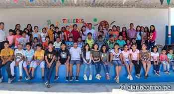 Inauguran talleres académicos y deportivos en Santiago de Cao - Diario Correo