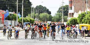 Santiago de Cao: cientos de personas participaron en bicicleteada 5k - La Industria.pe