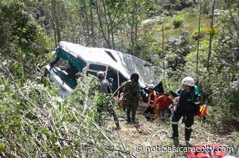 Accidente de bus en Chipaque - Noticias Caracol