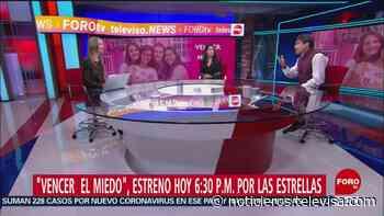 Ana Paula Ordorica entrevista a Alberto Estrella y a Arcelia Ramírez - Noticieros Televisa