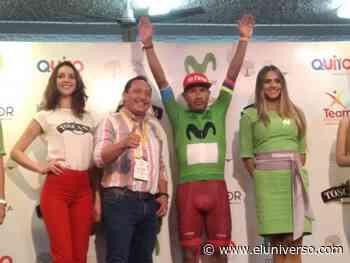 Segundo Navarrete gana circuito en Atuntaqui, en el desarrollo de la Vuelta al Ecuador - El Universo