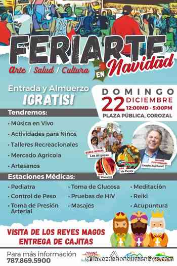 Llega FERIARTE con servicios médicos gratuitos para Corozal - La Voz de Honduras News