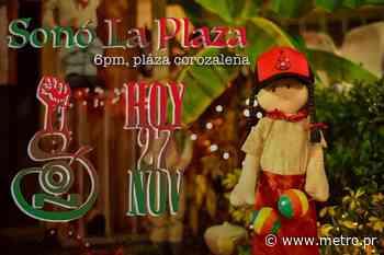 Música y cultura gratis en la plaza pública de Corozal - Diario Metro de Puerto Rico