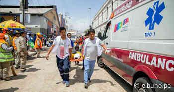 Obras a medio hacer en calle San Juan de Dios son un peligro para la población - El Búho - Arequipa