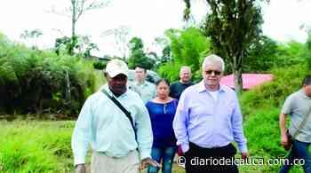 Obras de infraestructura en el municipio de Cajibío - diariodelcauca.com.co