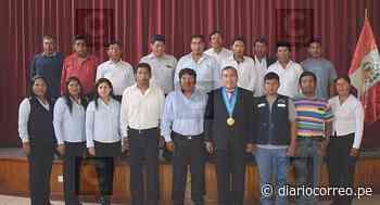 Entregan credenciales a alcaldes de centros poblados en Ilabaya - Diario Correo