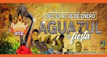 Festival y Reinado Nacional del Arroz 2020 en Aguazul, Casanare - Ferias y fiestas de Colombia - Viajar por Colombia