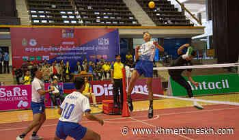Ministry of Interior tops sepak takraw nat'l championship - Khmer Times