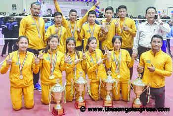 Jr Natl Sepak Takraw C'ship; State girls emerge regu winners, boys settle for runners up title - The Sangai Express