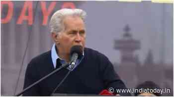 Martin Sheen recites Rabindranath Tagore's poem at climate change protest. Desi Twitter is proud - India Today