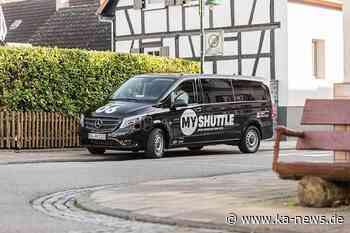 """Über 1.000 Fahrten in Dettenheim und Graben-Neudorf: """"MyShuttle""""-Minibusse werden Teil des KVV-Tarifes - ka-news.de"""
