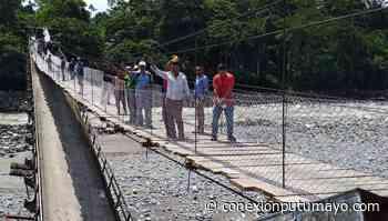 Sin licitaciones ni millonarios contratos la comunidad construyó este puente en Orito, Putumayo - Conexión Putumayo
