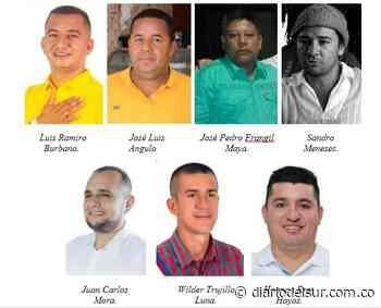 En contienda ocho aspirantes por alcanzar la Alcaldía de Orito - Diario del Sur