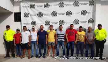 Capturan a miembros de la temible banda 'Los Caimanes' en Ciénaga - El Informador - Santa Marta