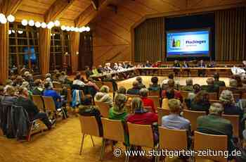 Plochingen ringt um das Hallenbad - Das Bürgerbegehren geht baden - Stuttgarter Zeitung