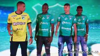 La nueva camiseta del Cali hace honor a 'Carepa' Gaviria y Giovanni Córdoba - ESPN