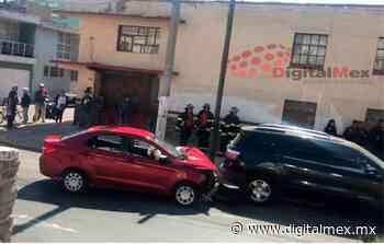 #Video: #Precaución cierran la calle de Lerdo en #Toluca por choque - DigitalMex