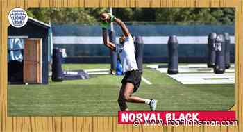 Three-Star JUCO Wide Receiver Norval Black Signs Letter of Intent with Penn State - Roar Lions Roar