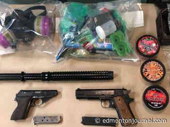 Grande Prairie man arrested after police seize cache of drugs, guns - Edmonton Journal