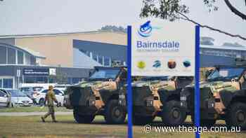 ADF set up operation at Bairnsdale Secondary College - The Age