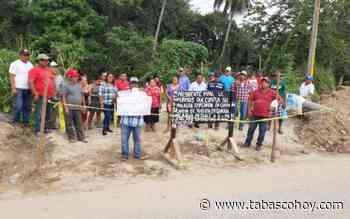 Habitantes de Buenavista exigen agua al ayuntamiento del Centro - tabasco hoy
