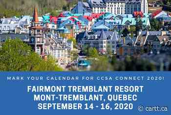 CCSA Connect 2020 will be in Mont-Tremblant this September - Cartt.ca