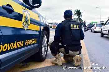 Caminhão tomba e interdita parte da BR 262 em Ibatiba - A Gazeta ES