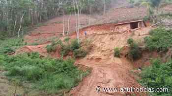 Polícia Militar Ambiental notifica terraplanagem irregular em Ibatiba - www.aquinoticias.com