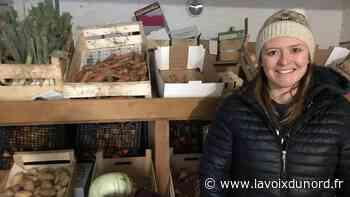 À Vitry-en-Artois, Sandrine Carpentier cultive des légumes et le goût pour la vente directe - La Voix du Nord